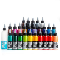 Solid Ink - Solid Ink 25 Colors Fundamental Set | Available in 1oz or 2oz