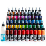 Solid Ink - Solid Ink 50 Colors Deluxe Set | Available in 1oz or 2oz