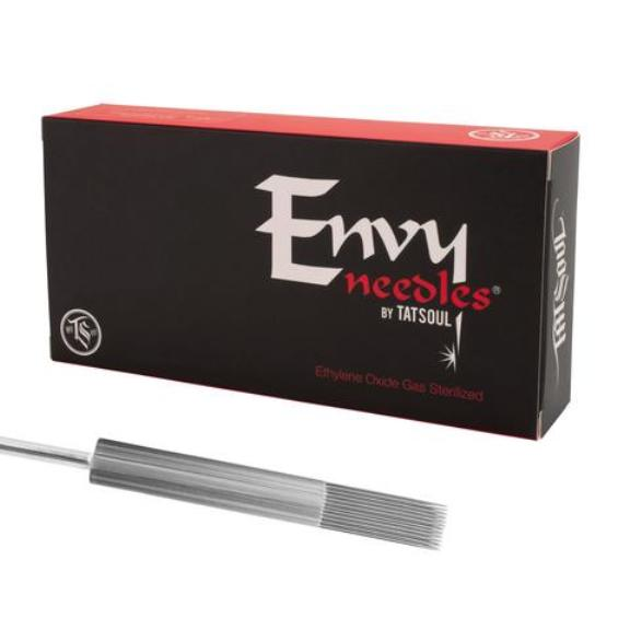 TATSoul Envy® ROUND LINER, Standard #12 & Bugpin #09, *XT*= Extra Tight, *TRAD* = Tradition. 50/box CHOOSE CONFIGURATION.