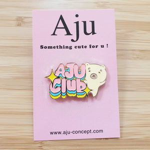 [AJU FRIENDS] Pin's Chowy AJU CLUB