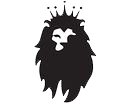 Lion logo with crown