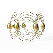 Load image into Gallery viewer, ONDA / Bracelet Wire Gold Color
