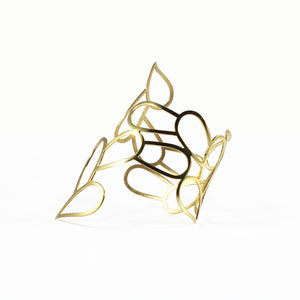 ATENEA / silver 925, 18kt gold plated