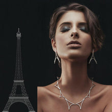 Load image into Gallery viewer, EIFFEL earrings / Silver 925