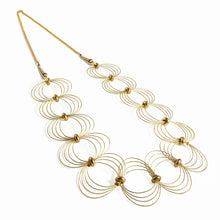 Load image into Gallery viewer, ONDA L / Necklace Wire Gold Color