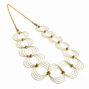 ONDA L / Necklace Wire Gold Color