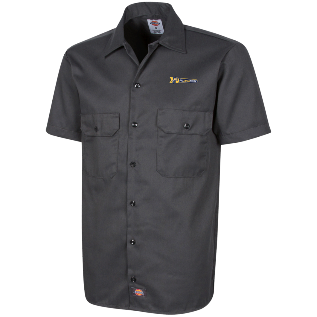 My Auto Care Embroider 1574 Dickies Men's Short Sleeve Workshirt