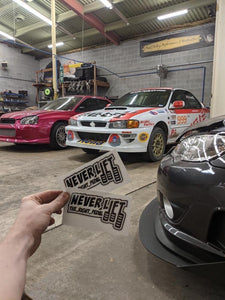 RALLY STICKERS