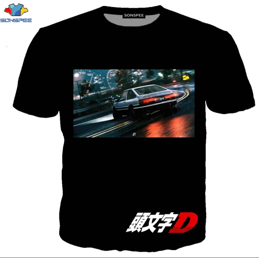INITIAL D T-SHIRTS