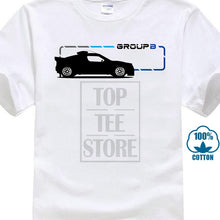Load image into Gallery viewer, Men'S Tops Cool O Neck T Shirt Group B T-Shirt 80S Sporters Car Hot Hatch Rally Retro Motor Tshirt T Shirt Tee