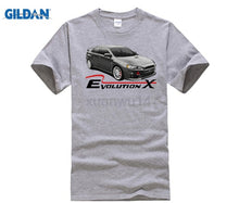 Load image into Gallery viewer, HOT Men'S Funny T shirt Men Clothing Lancer Ralliart Evolution X White Or Gray T-Shirt Evo 10 Rally cool