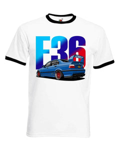 Mens german car E36 T-Shirt 316 318 Is 320 325 328 M3 T Shir Tmen Tops Tees 2019 Summer Fashion New Printed T Shirt