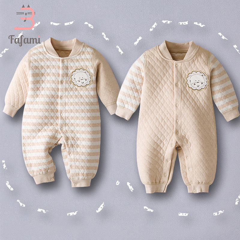 Baby Rompers For Newborn Baby Winter Clothes Organic Cotton Baby