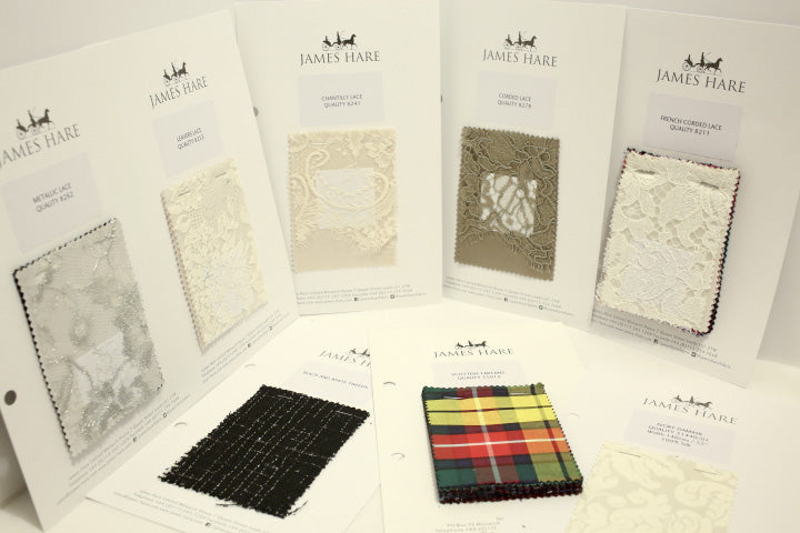 James Hare Fabrics stocked by Mooshi Couture