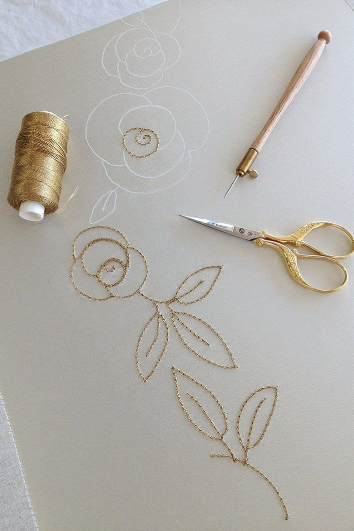 Beginner Tambour Embroidery Intensive - Stage 1