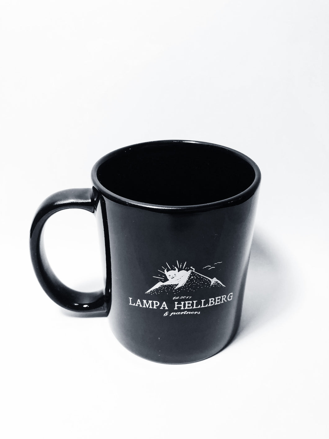 LH+P Mountain Logo Mug