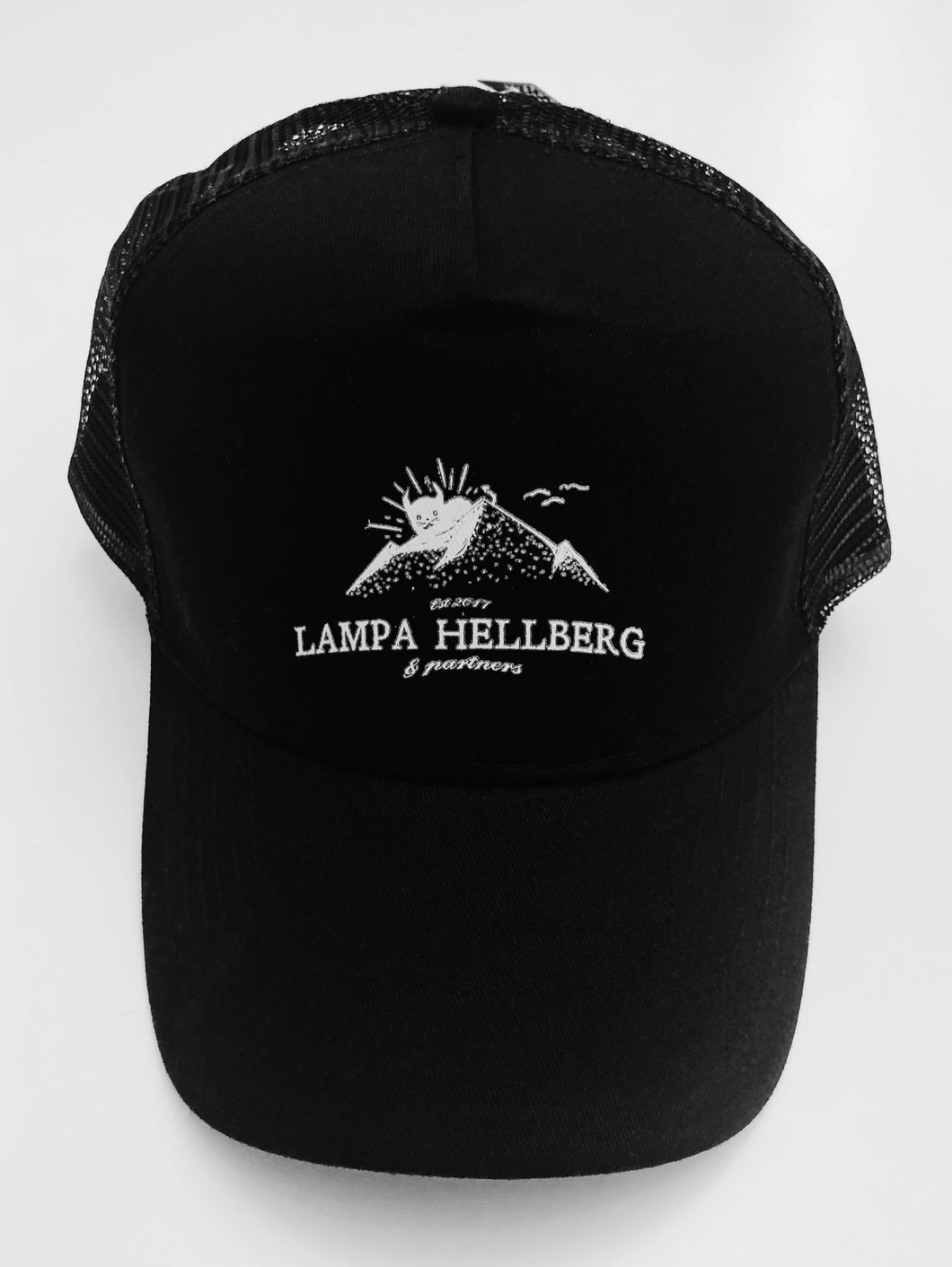 LH+P Mountain Logo Trucker Cap