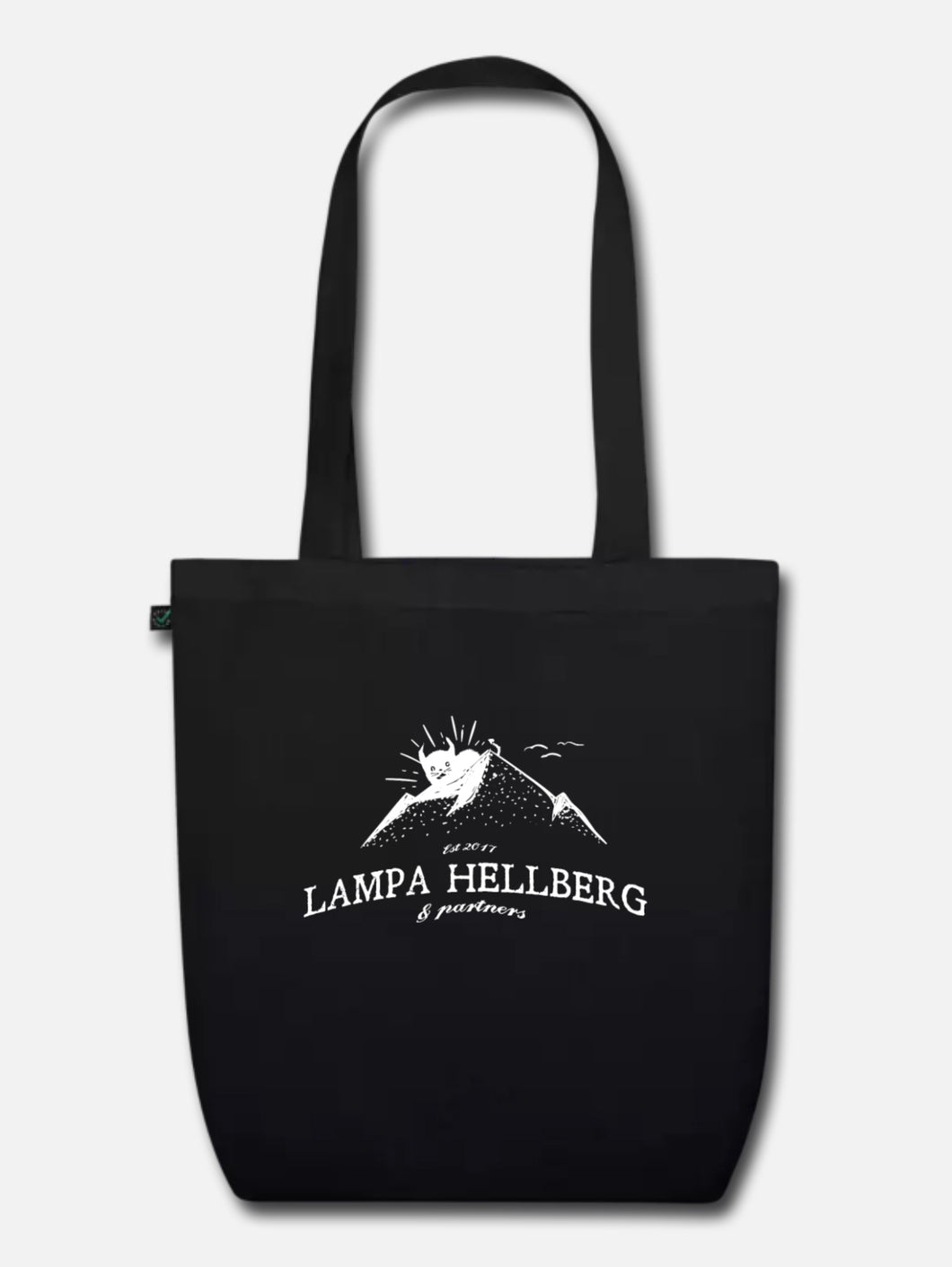 LH+P Mountain Logo Tote Bag