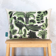 Load image into Gallery viewer, Decorative Lyrebird cushion