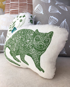 Decorative quoll softie cushion