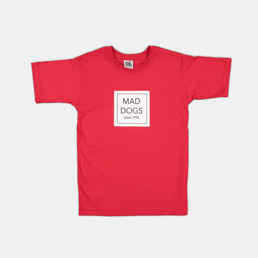 Boys | [RED] Printed T-Shirt - Mad Dogs Clothing