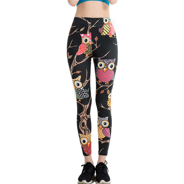 Crazy cartoon leggings
