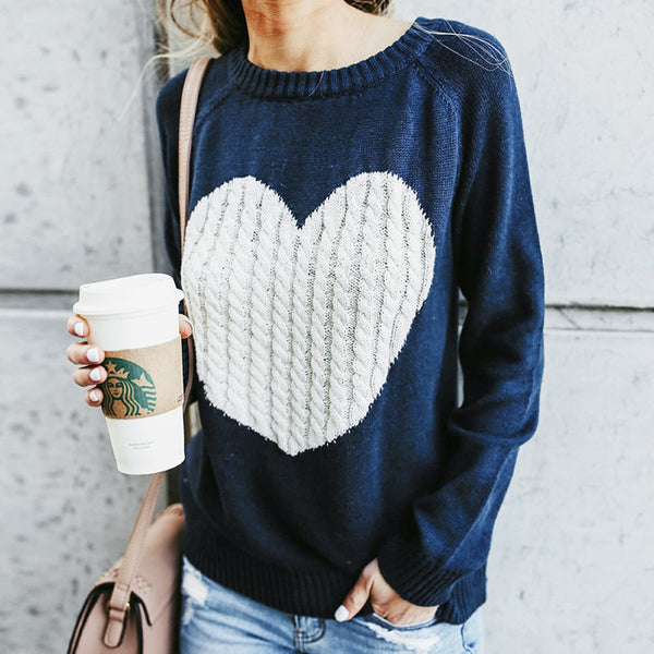Sweet Heart Jumper