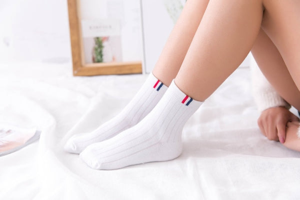 Simple Color Socks