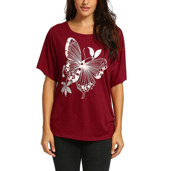 Butterfly Fashion T-shirt