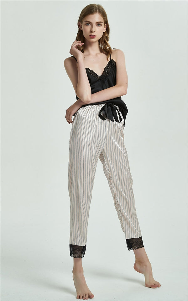 Striped Pajamas Set