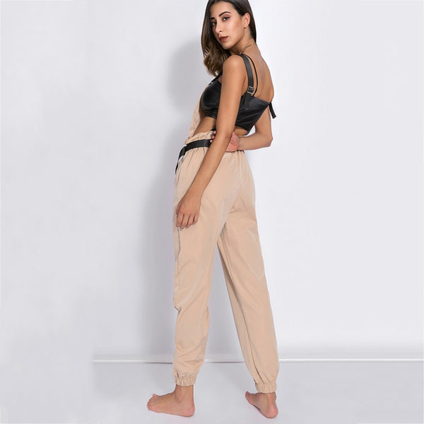 Styled Utility Work Jumpsuit