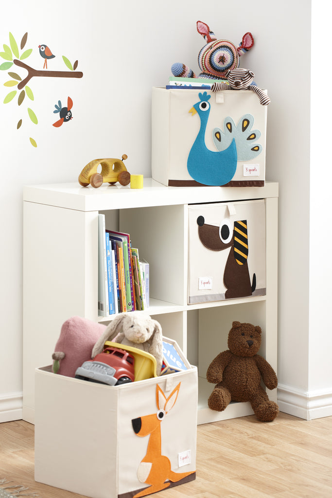 Perfect The 3 Sprouts Storage Box Is The Perfect Organizational Tool For Any Room.  With Sides Reinforced With Cardboard, Our Storage Box Stands At Attention  At All ...