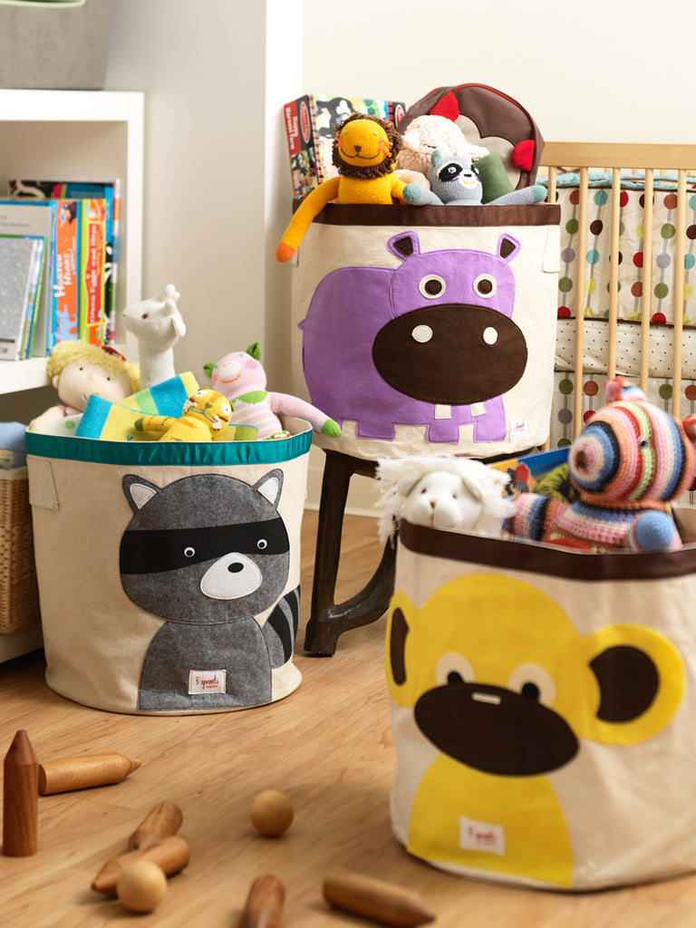 Help your kids clean up their act with our cute animal storage bins. Well sized for storing toys books or laundry our storage bin measures 17.5  in height ... & Storage Bin | Shop toy chests storage boxes bins and more
