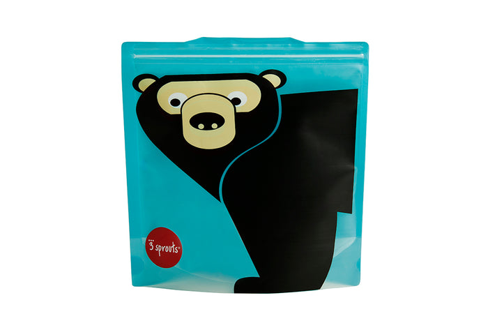 bear sandwich bag (2 Pack)