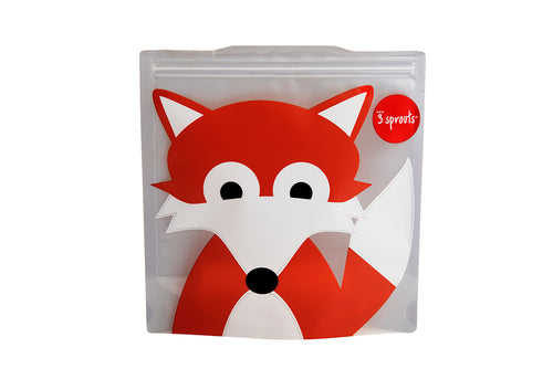 fox sandwich bag (2 Pack)
