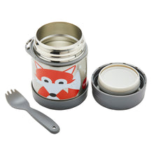 fox stainless steel food jar