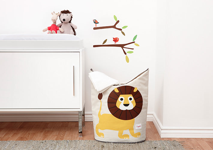 Hamper Vignette Lion