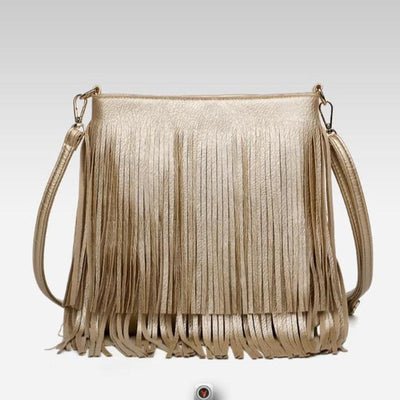 Fringe Gold Crossbody Shoulder Bags