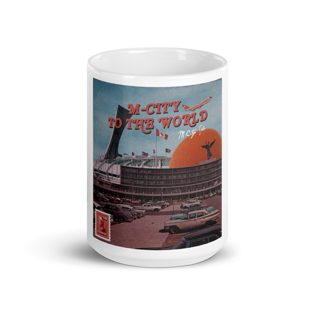 M-city To The World Mug
