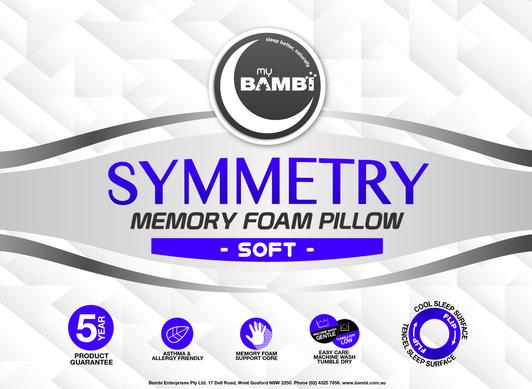 Bambi Memory Foam Pillow