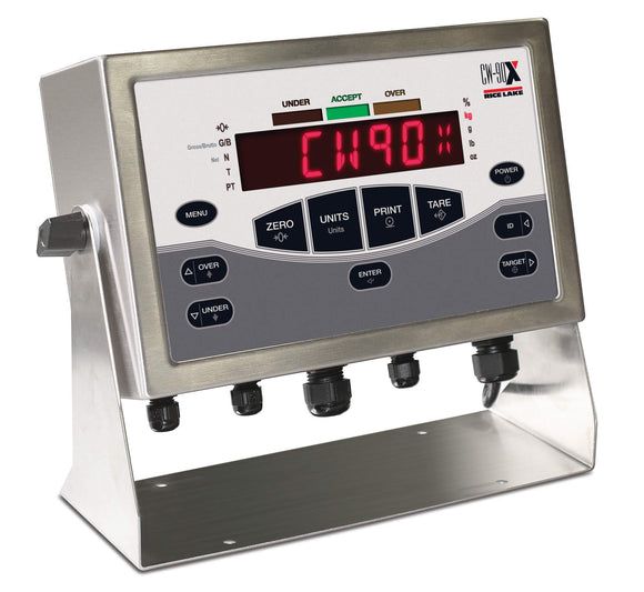 Indicateur checkweigher Rice Lake CW-90 et CW-90X