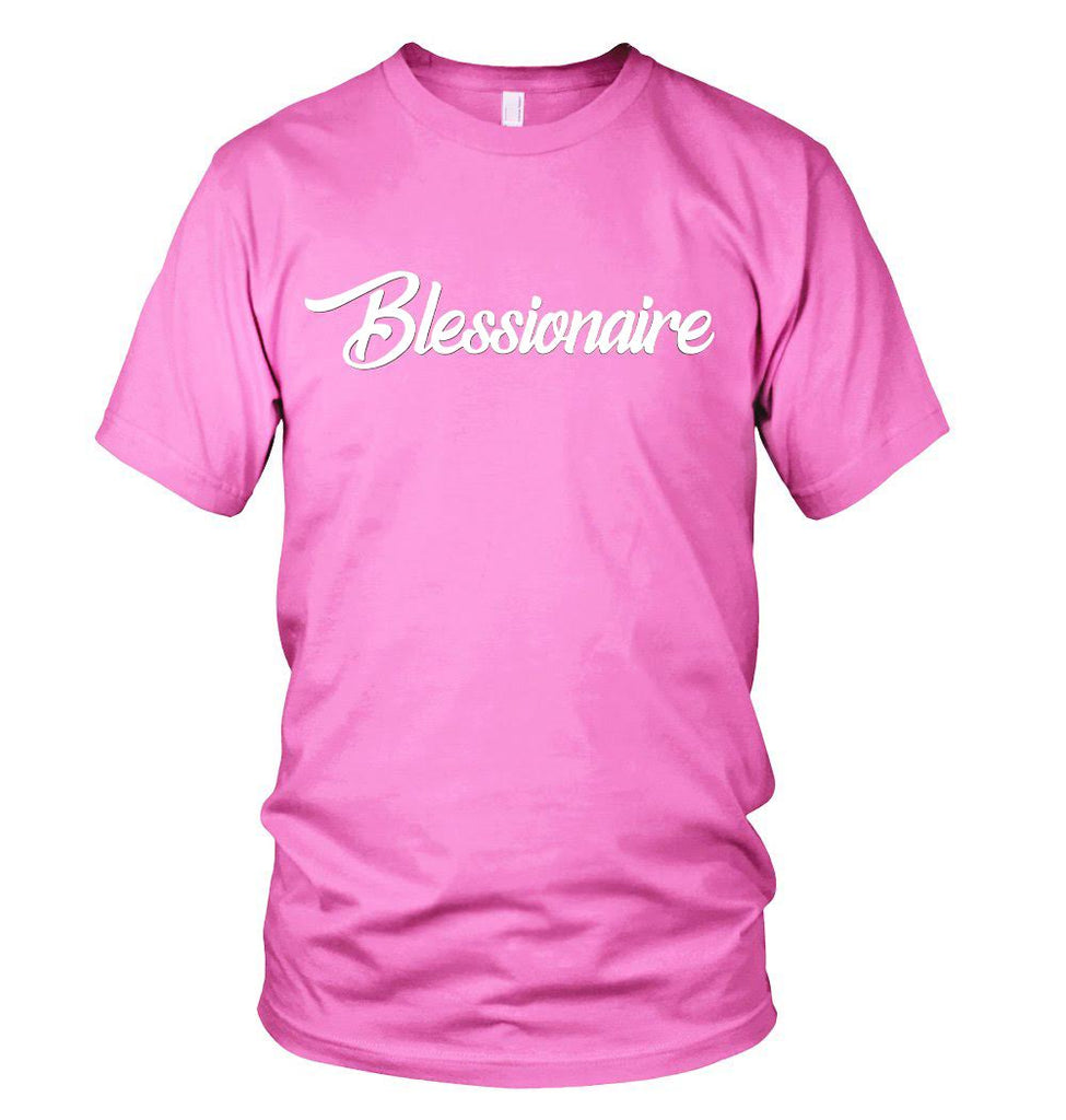 Blessionaire Apparel Original Pink T-Shirt