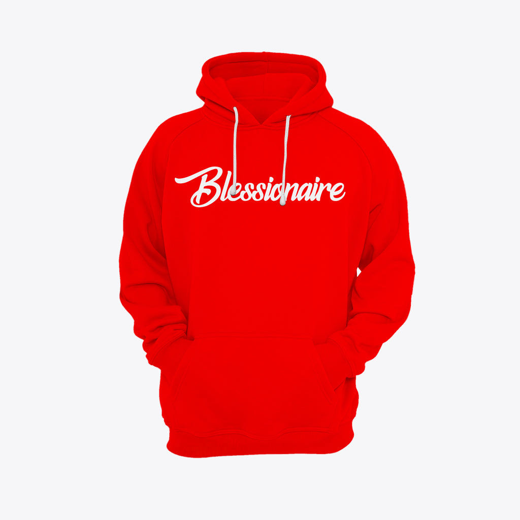 Red Blessionaire Hoodie