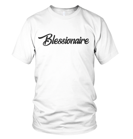 Blessionaire Apparel Original White T-Shirt