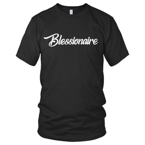 Blessionaire Apparel Original Black T-Shirt
