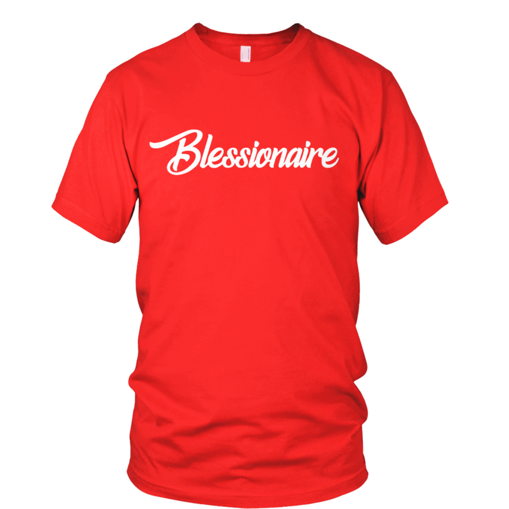 Blessionaire Apparel Original Red T-Shirt