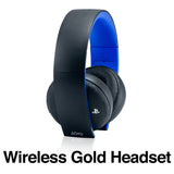 Playstation Gold Wireless Headset Skins