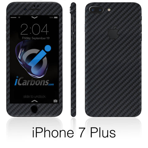 iPhone 7 Black Carbon Fiber