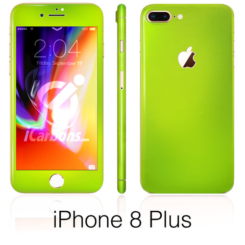 iPhone 8 Plus Liquid Green Skin