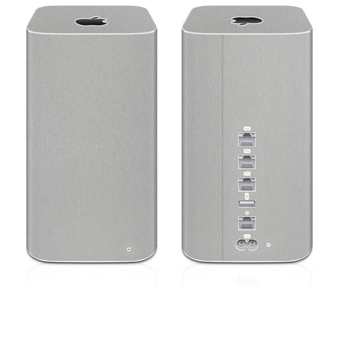 Airport Time Capsule Skins (2013-Current) - Brushed Metal - iCarbons - 1